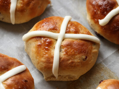 Hot Cross Buns are a classic easy bread recipe