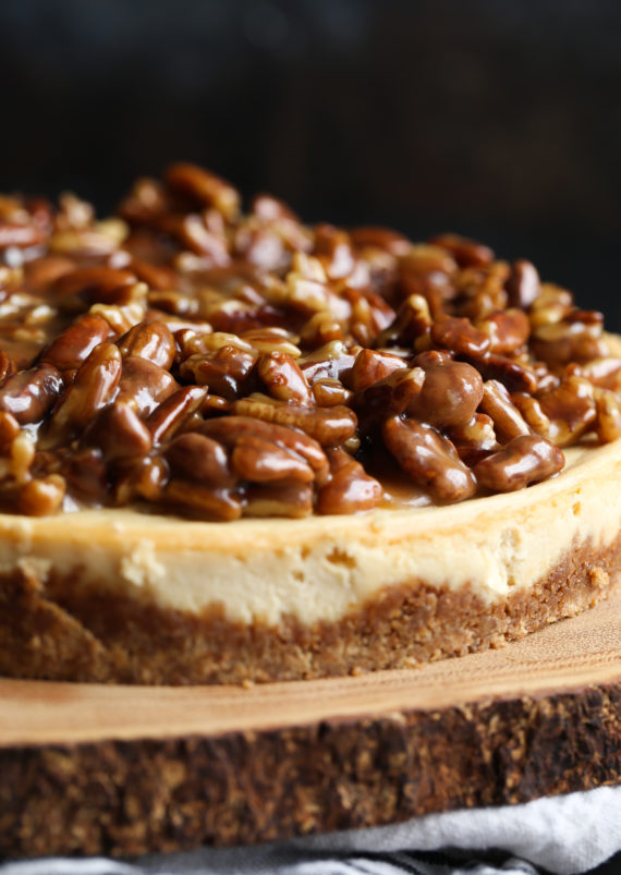 Pecan Pie Cheesecake is an easy and impressive cheesecake!