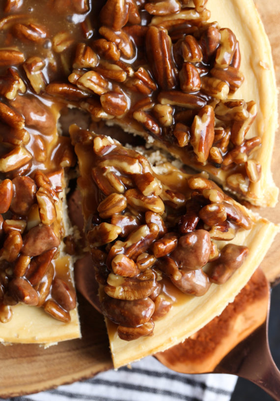Pecan Pie Cheesecake is an easy and delicious combination of two classic desserts!