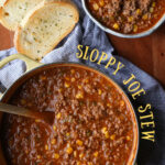 Sloppy Joe Stew