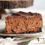 Chocolate Cheesecake is a chocolate version of my perfect cheesecake recipe