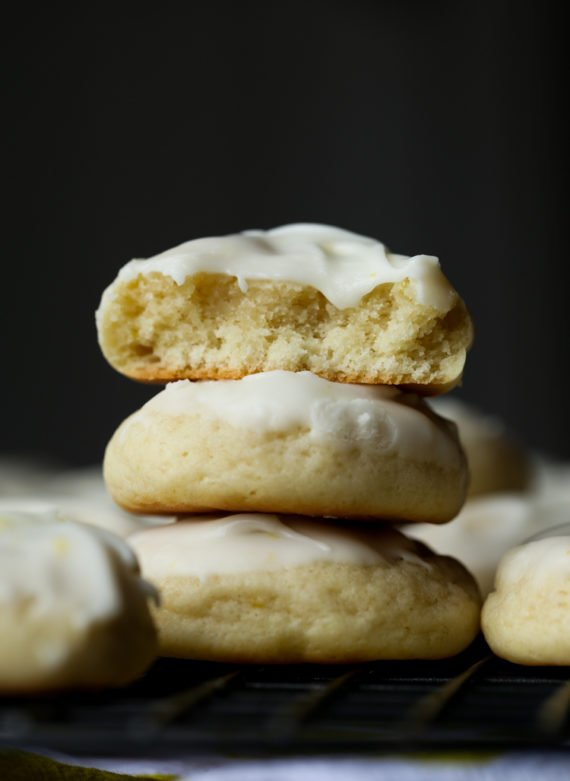 Soft Cream Cheese Lemon Cookies are thick and delicious!