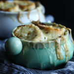 The Best French Onion Soup Recipe made in the slow cooker
