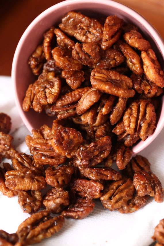 Easy Candied Pecans Recipe only take minutes to make