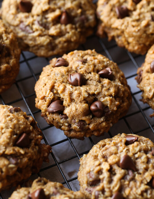 Oatmeal Chocolate Chip Cookies are an easy cookie recipe