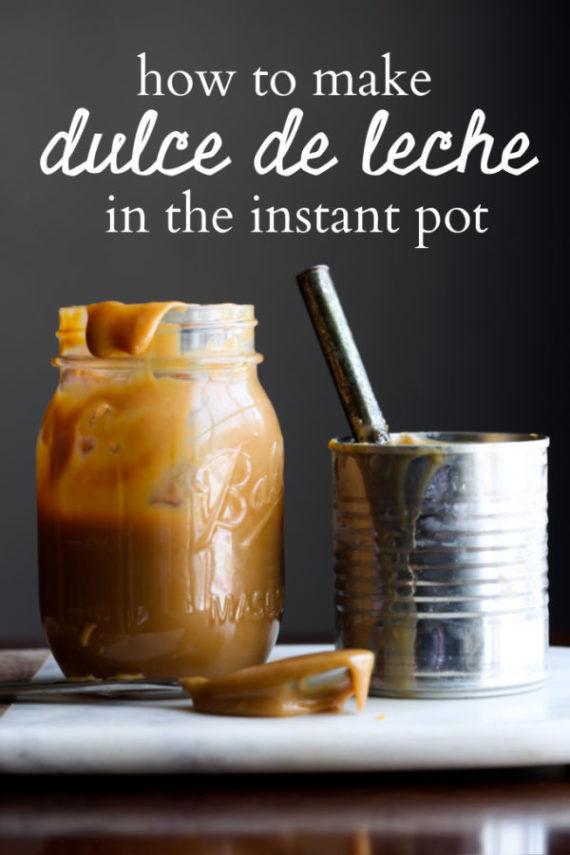 Instant Pot Dulce De Leche