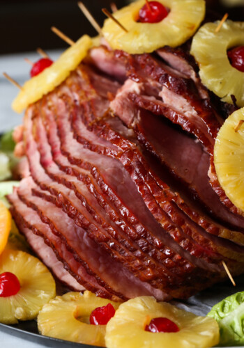 This Pineapple Baked Ham Recipe is easy