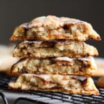 Cinnamon Roll Cookies Recipe are loaded with ribbons of cinnamon sugar