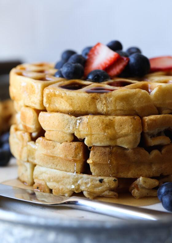 Buttermilk Waffle Recipe