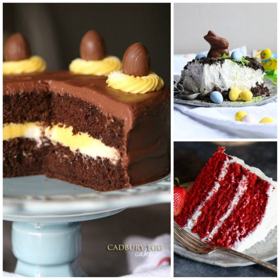 3 Cakes for your Easter Dessert Table