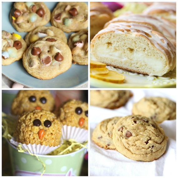 Easter Cookies and sweets for your dessert table