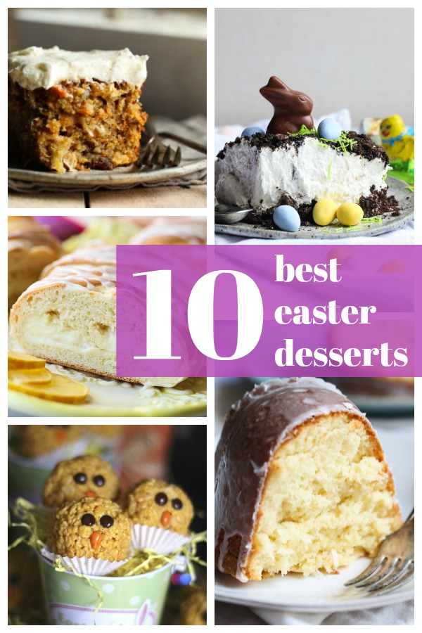 10 Amazing And Easy Easter Desserts Cookies And Cups
