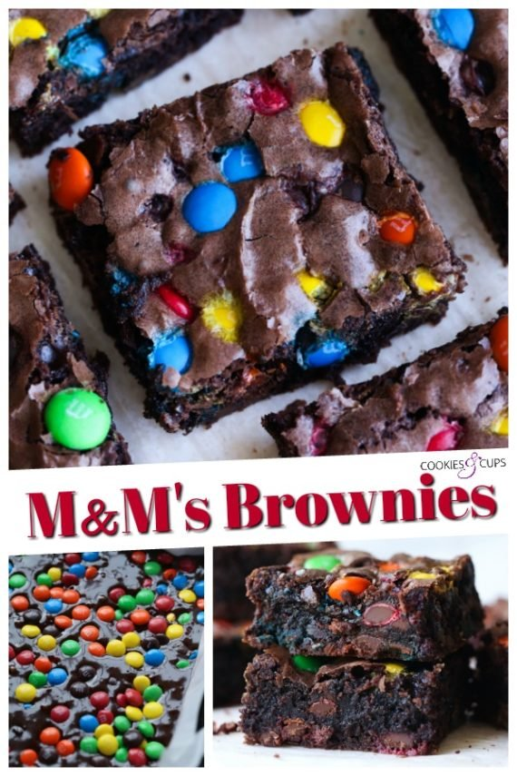 M&Ms Brownies Recipe