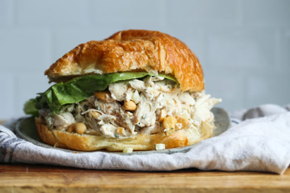 Easy Chicken Salad with rotisserie chicken