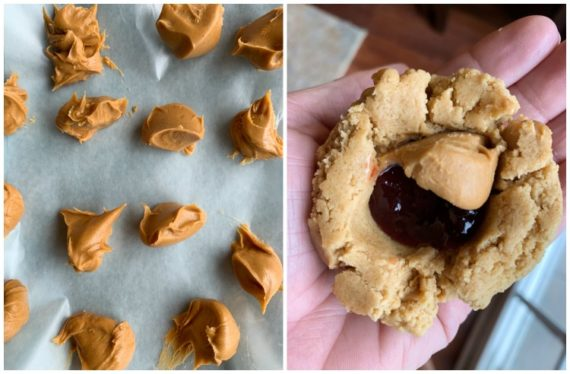How To Make Peanut Butter and Jelly Cookies