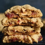 Stuffed Peanut Butter and Jelly Cookies Recipe