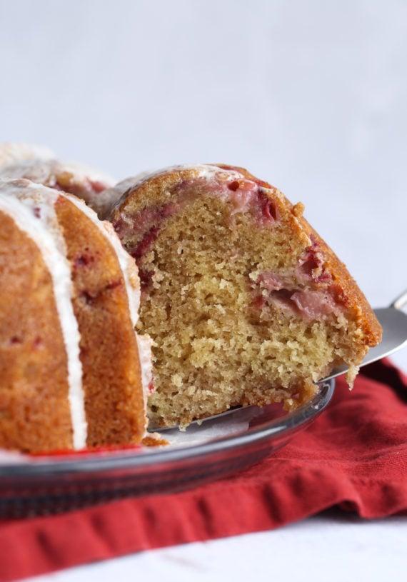 Most Moist strawberry pound cake recipe