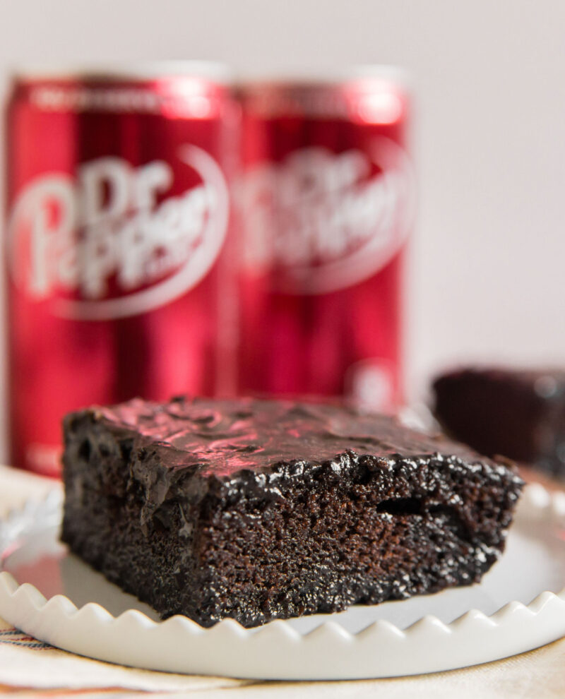 Dr Pepper Cake is an easy chocolate cake recipe
