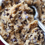 Egg free edible cookie dough recipe