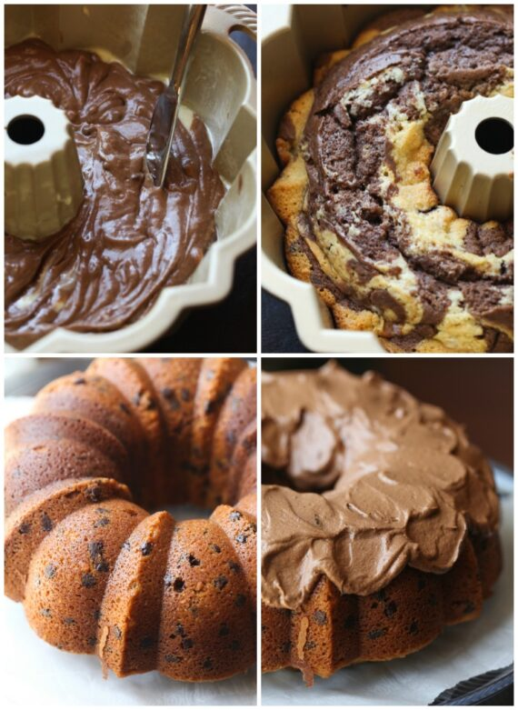 How To Make Marble Pound Cake