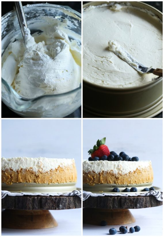 How to make No Bake Cheesecake