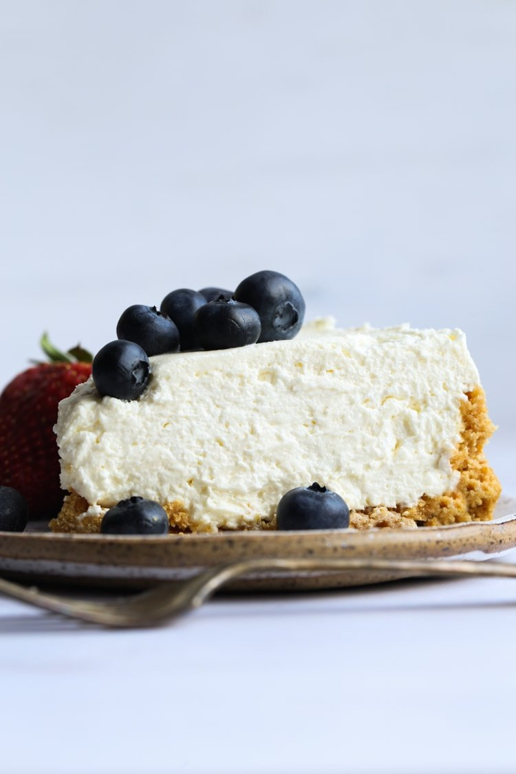 Picture of the Best No Bake Cheesecake