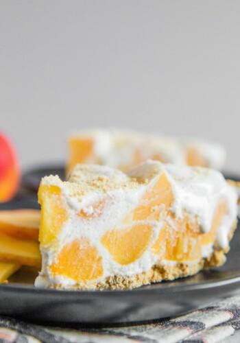 No Bake Ice Box Peach Pie Recipe