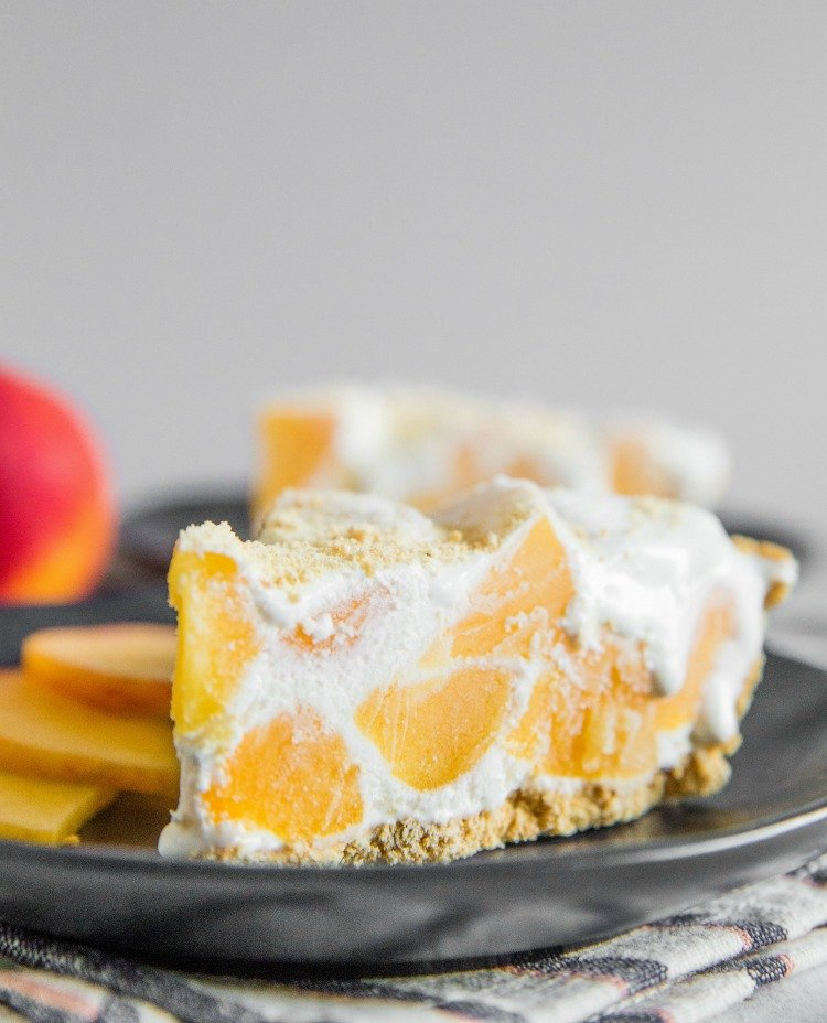 No Bake Ice Box Peach Pie Recipe