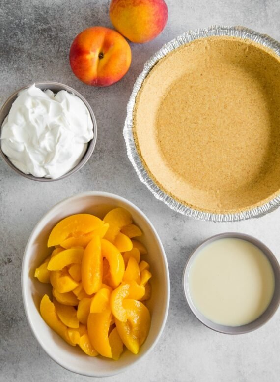 How To Make Icebox Peach Pie