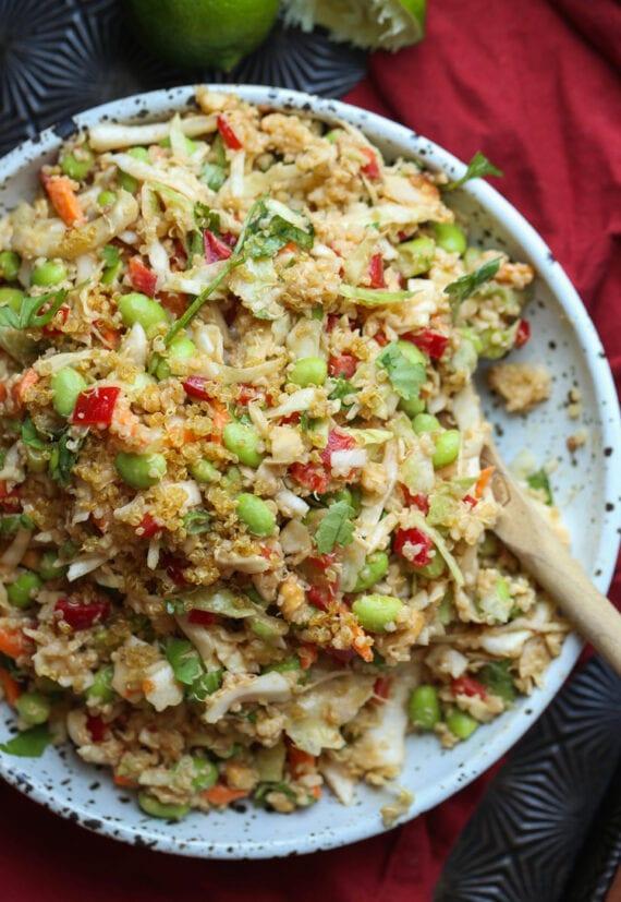 Thai Quinoa Salad is a great side dish recipe