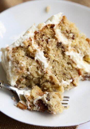 Sliced Hummingbird Cake Recipe