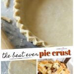 The Best Ever Pie Crust