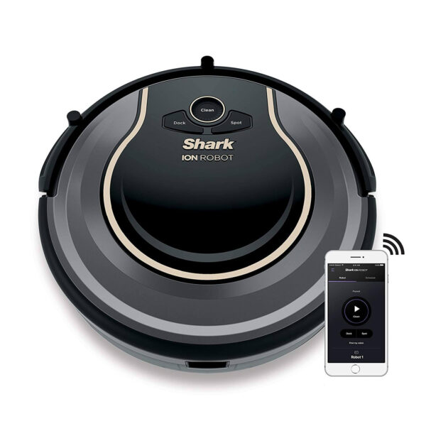SHARK ION Robot Vacuum R75 WiFi-Connected, Voice Control Dual-Action Robotic Vacuum