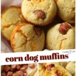 Corn Dog Muffins Recipe Pin