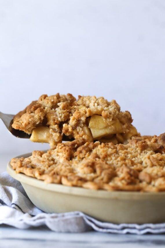 Dutch Apple Pie Slice