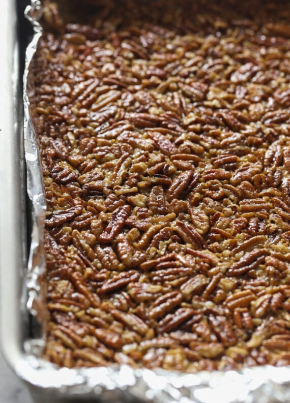 How To Make Pecan Pie Bars