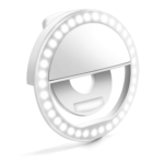 Selfie Ring Light, Enlody Dimmable Clip Ring Lighting