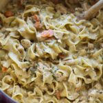 Creamy Chicken and Noodles Recipe