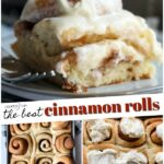 Cinnamon Rolls Collage