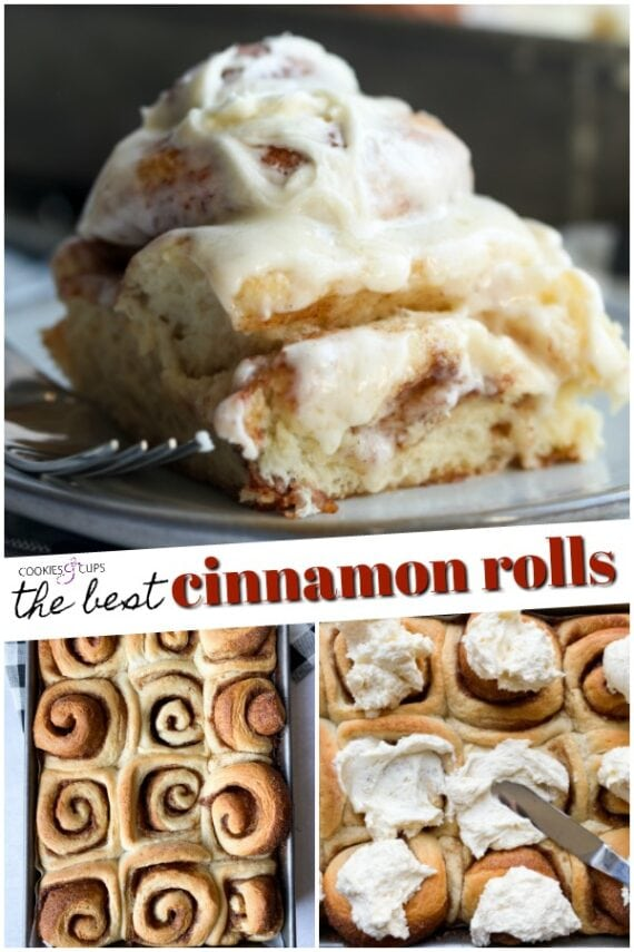 Cinnamon Buns Collage