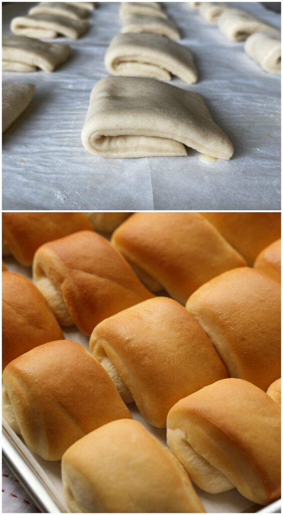 How To Roll Parker House Rolls