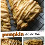 Pumpkin Scones Pinterest Image