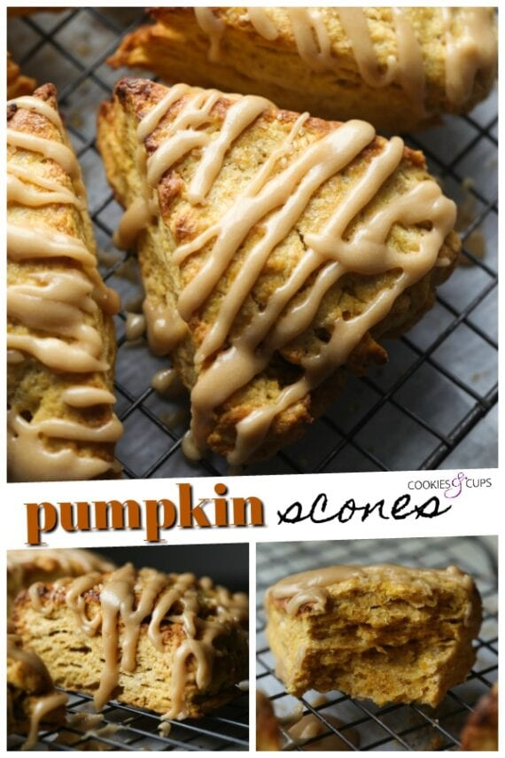 Pumpkin Scones Pinterest Image