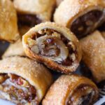 Easy Rugelach Recipe filled with nuts and fruit