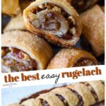 Rugelach Recipe Pinterest Image