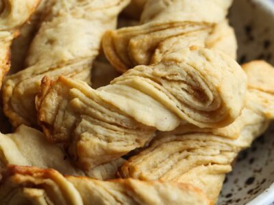 Sour Cream Twists