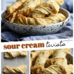 Sour Cream Twists Pinterest Image