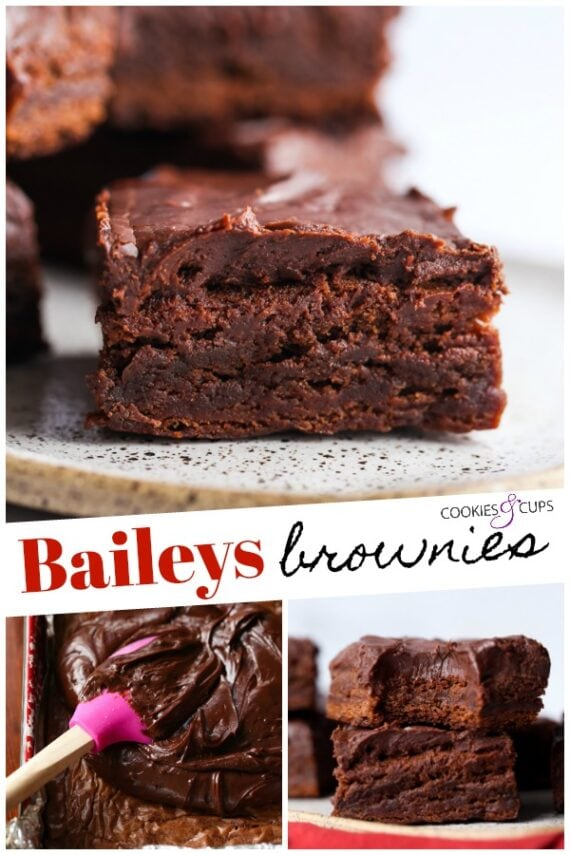 Baileys Brownie Pinterest Image