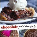 Chocolate Pecan Pie Pinterest Image