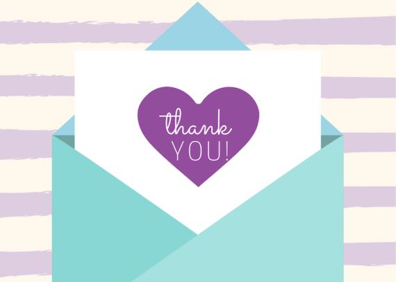 Thank You Envelope